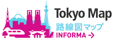 Tokyo Map, Rail Route & City Map, Airport Link informa->